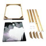 กรอบรูป หรือโครงยึดภาพ รูปแบบกรอบลอย ---  Comprehensive Frameless Painting Bracket Supply