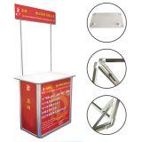 โต๊ะชวนชิม โครงอลูมิเนี่ยม ขนาด80 * 180cm --- Portable Booth Standard Aluminum 80 * 180cm