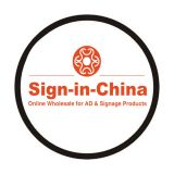Customized Single Color LOGO Advertising Light Films for Logo Projector Light 66.5x44mm