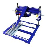 "7.9"" x 5.9"" Manual Cylinder Curved Screen Printing Press for Pen / Cup / Mug / Bottle (Diameter:6.7"")"